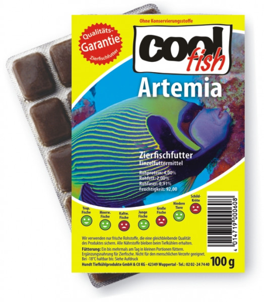 Cool Fish Artemia, 15 x 100g-Blister